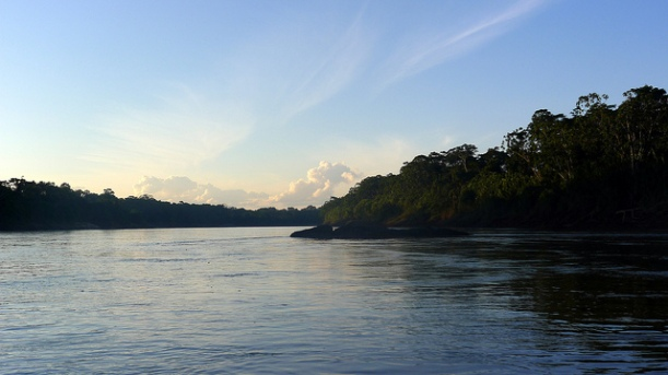 Has the Amazon Basin always looked like this? Image by Crystal Luxmore, via Flickr CC.