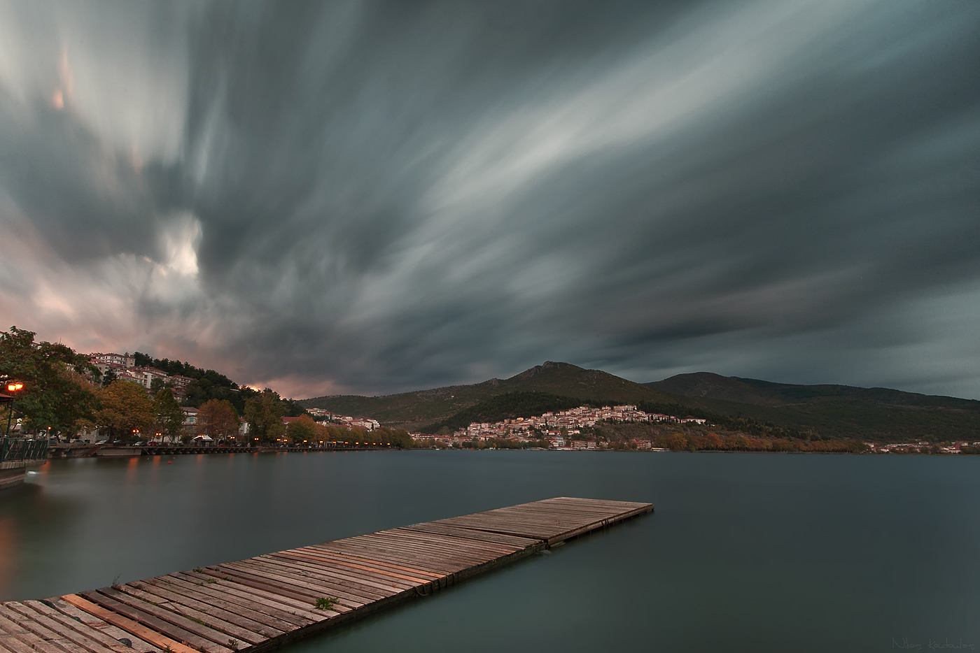 Dark clouds hang over Greece's future. Image by Nikos Koutoulas, via Flickr CC.