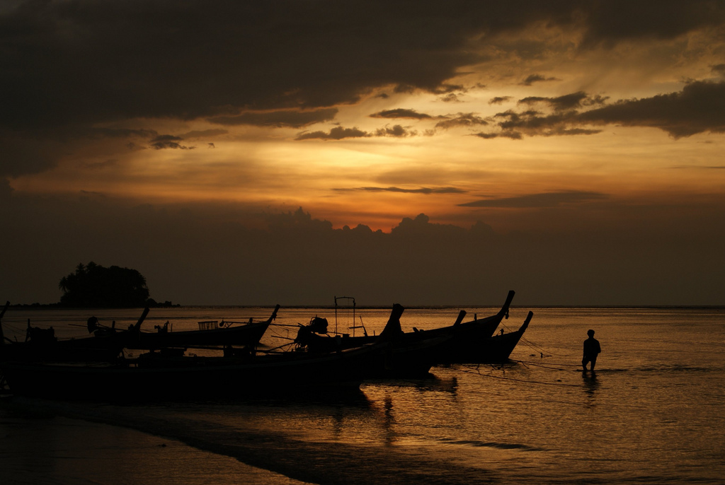 Not all Thai fishing is this idyllic. Image by Ali Catterrall, via Flickr CC.